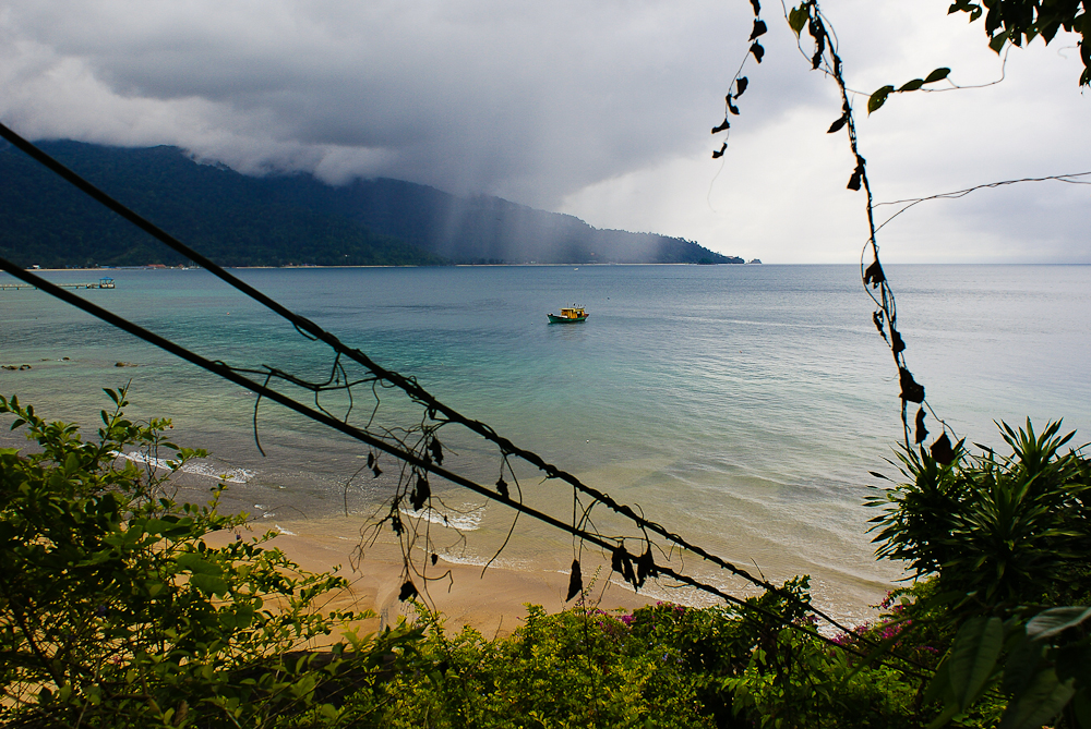 Rainy season at Tioman