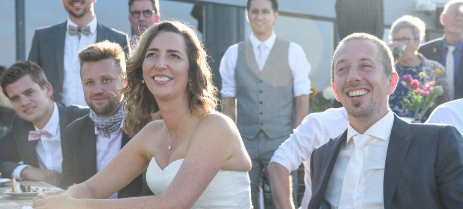 De bruiloft van Frans en Elien